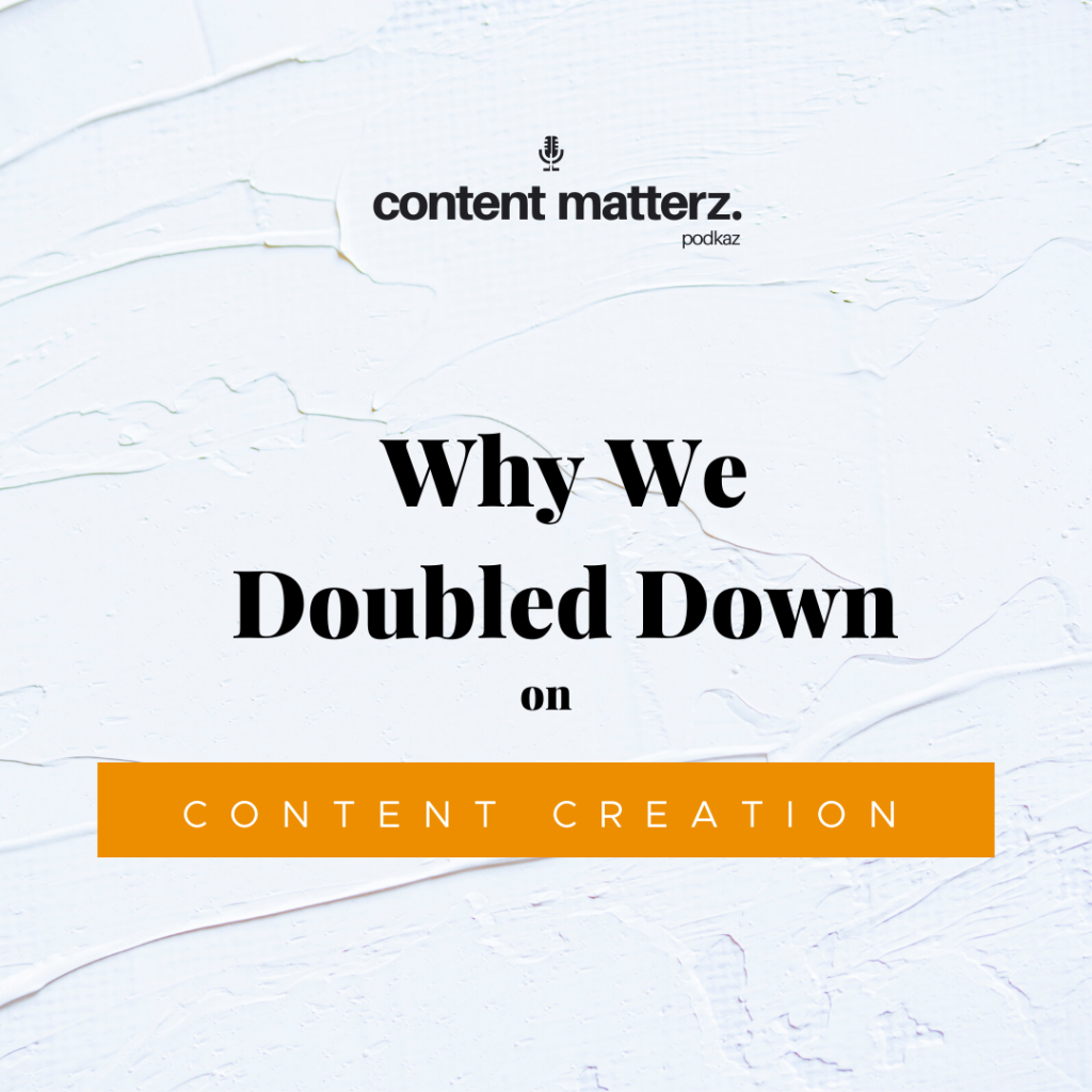 Why We Doubled Down on Content Creation | Charlotte Content Company