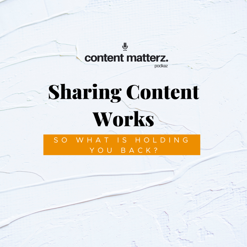 Sharing Content Works, So What's Holding You Back? | Content Agency