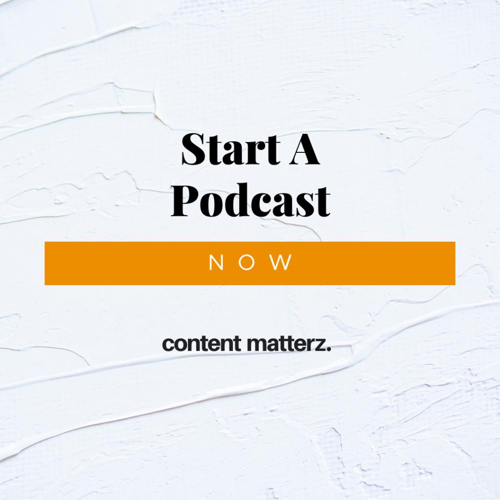 Start a Podcast, Now   Podcast Production Company   CLT North Carolina